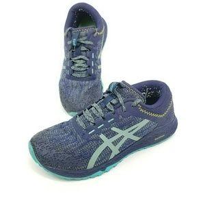 Asics Alpine Xt Athletic Running Trail Shoes Blue